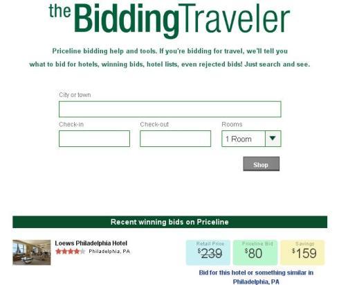 Bidding Traveler