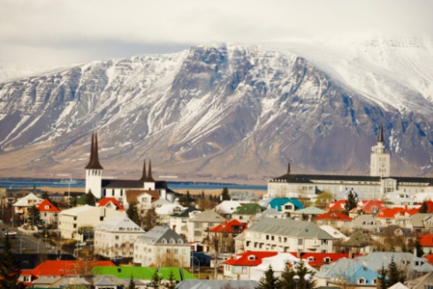 Downtown Reykjavik (Getty)