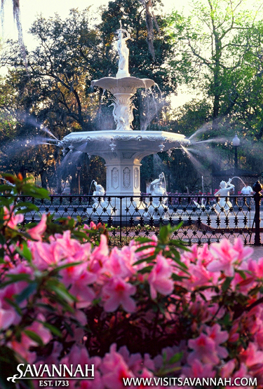 Savannah's Forsyth Park Fountain