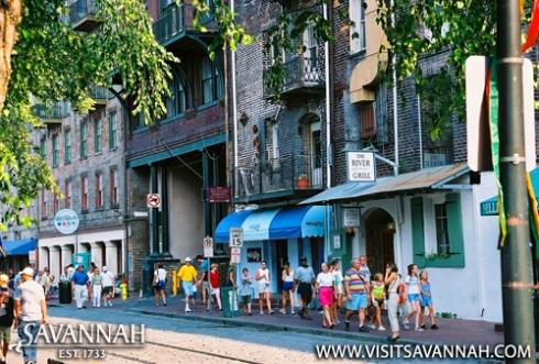 Savannah's River Street