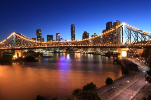 Story Bridge in Brisbane-Getty